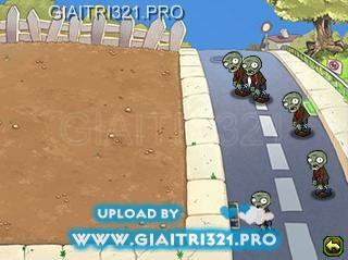 Game Plant vs Zombie của EA Mobile