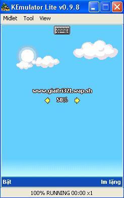 Phần Mềm giả lập chơi game java trên máy tính Emulator